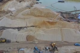Песок для дорожного строительства